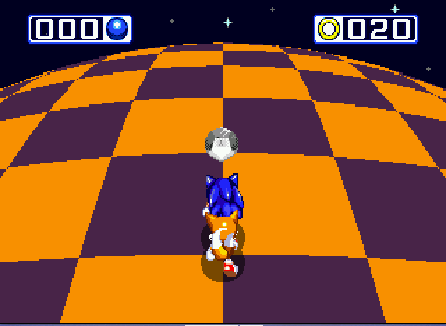 Sonic and Knuckles & Sonic 3 - chaos emerald 5 - User Screenshot